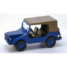DKW MUNGA 4 THW CLOSED BLUE 1:43 Starline Auto Stradali Die Cast Modellino