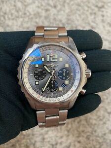 BREITLING CHRONOSPACE AUTOMATIC A23360 MENS 46 MM WATCH