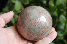 1.7LB Rare Natural Rhodochrosite Inca Rose Crystal Gem Stone Sphere Ball Healing