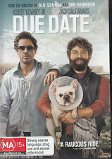 DUE DATE Robert Downey Jr DVD R4