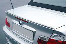 BMW E46 3-Series Cabriolet Euro Rear Trunk Boot Spoiler Lip Wing Sport Trim M M3