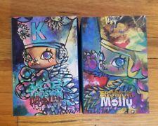 Kennyswork X INSTINCTOY - Baby Erosion Molly Figure Pink Star & Blue Star Set