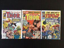 3 Issue Lot - Thor 427, 429, 436 Avengers Excalibur Juggernaut