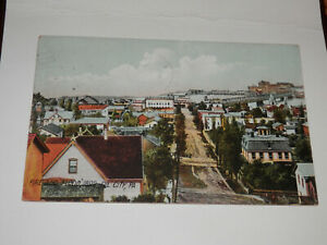 OIL CITY PA - 1916 POSTCARD - FIRE AND FLOOD 1892 - VENANGO COUNTY