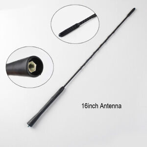 Flexible but Strong Vehicle 16'' Antenna - Improve the Look of Your Car