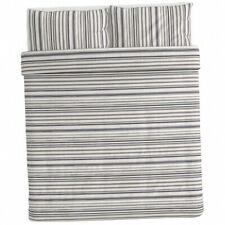 New ListingIkea Randgras Duvet Cover and Pillowcases Gray Stripe King size 304.389.57 New