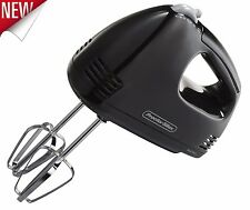 Electric Mixer Hand Held Blender Kitchen Beater Mini Power Cooking Mixing Tool