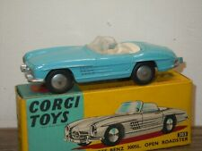 Mercedes 300SL Roadster - Corgi Toys 303 England in Box *36826