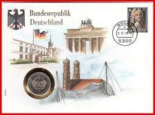 Bundesrepublik Deutschland Numisbrief vom 03.12.1985 mit  2 DM Schumacher !!!