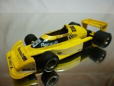 EIDAI GRIP RENAULT RS01 - ELF JABOUILLE  F1 YELLOW 1:43 - GOOD CONDITION