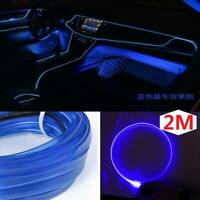 Neon LED Light Glow EL Wire String Strip Rope Tube Decor Car Party + Controller.