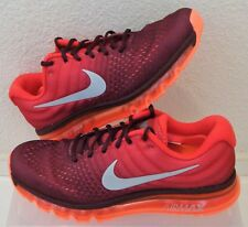 New Nike Air Max 2017 Maroon Red Mens US Size 8.5 UK 7.5 EUR 42 CM 26.5