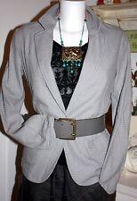 Noa noa chaqueta blazer casual Cool Frost Grey size: s nuevo