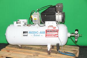 Medicair Kompressor Ölfrei Schneider 300-90 W Dental Praxis #7333