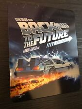 BACK TO THE FUTURE TRILOGY - Limited Edition Tin Box - Disc Blu-ray Set!