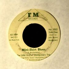HEAR IT R&B BLUES The Little Brother Montgomery Trio FM 1002 Mini-Skirt Blues