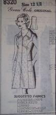 Grace Cole Princess Line Summer Dress pattern SZ 12 1/2