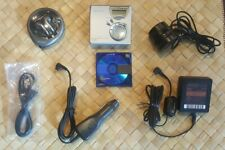 Sony Md Mz-N510 Type-S NetMd Minidisc Player Recorder  NetMd Walkman w/ Extras