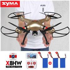 Syma X8hg 8.0mp 1080p HD Camera Drone Altitude Hold Quadcopter 3 Batteries