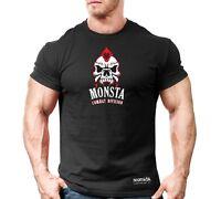 New Mens Monsta Clothing Fitness Gym T-shirt - CSS Center - Combat