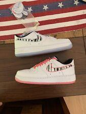 Nike Air Force 1 South Korea 2020 White Tiger Sneaker CW3919-100 Mens Size 9