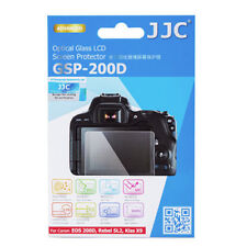 JJC GSP-D200D Optical GLASS LCD Screen Protector Film for Canon 200D SL2 Kiss X9