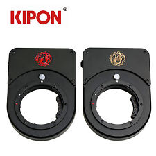 Kipon Electronic Aperture Adapter for Canon EOS to Fuji GFX Medium Format Camera