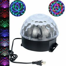 Remote Control Colorful RGB Effect Lighting 6 Led Crystal Magic Ball Disco Light