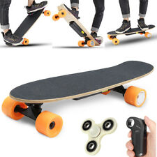 Electric 250W Moterized Longboard Skateboard Wireless Remote Control Maple Deck