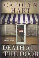Death at the Door (Death on Demand Mysteries) Carolyn Hart SIGNED First Edition