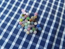 33 Katzenaugen - Perlen - 4 mm