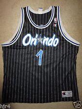 Anfernee Penny Hardaway #1 Orlando Magic Black NBA Jersey 52