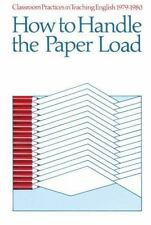 Classroom Practices in Teaching English, 1979-1980: How to Handle the Paper Load