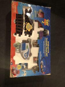 Rare Vintage Disney Pixar Toy Story 2 Interactive Talking Train Set