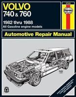 Haynes Repair Manual for 1982-1988 Volvo 740 & 760 #97040 - Ships Fast!