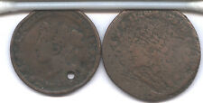 1837 HARD TIMES TOKEN * POSSIBLE TRIAL PIECE, PATTERN, ERROR * HUGE & WEIRD !!