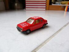 Ford Escort 1.6L Mc Toy Mctoy 1/60 miniature jouet ancien