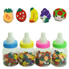 25pcs Cute Mini Fruit Rubber Pencil Eraser For Children Stationery Gift Toy Hot