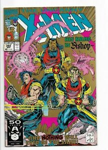 THE UNCANNY X-MEN 282 2nd PRINTING HIS NAME IS BISHOP APPEARANCE OF BISHOP 1991