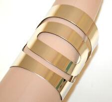 PULSERA PLATA de metal rígido esclava mujer brazalete silver woman bracelet G68
