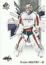 Braden Holtby #58 - 2016-17 SP Authentic - Base