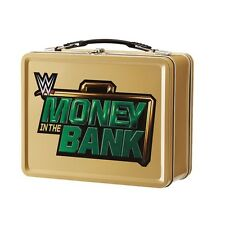 WWE NEW MONEY IN THE BANK BRIEFCASE METAL LUNCH BOX