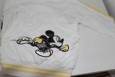Monnalisa Nylon Sweatjacke Jacke Mickey Mouse Gr. 11 Jahre 146 / 152 beidseitig