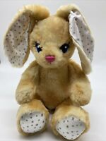 Build a Bear Plush More Moves Jointed Bunny Rabbit Stars Stuffed Animal Doll Toy