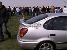 For Toyota Corolla Liftback REAR boot trunk SPOILER back door addon trd trim