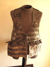 US ARMY ACU MOLLE VEST FLC FIGHTING LOAD CARRIER BY SPECIALTY DEFENSE W POUCHES