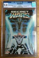 Secret Wars #1 Ed McGuinness Fade Edition/ Stan Lee Partial Sketch CGC 9.8