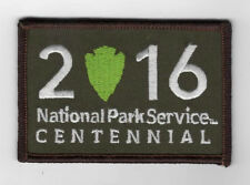 National Park Service - 2016 -100 Year Anniversary logo -  camo version  Patch