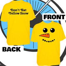 Vêtements jaunes pour fille de 2 à 16 ans en 100% coton