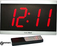 Wecker mit Fernbedienung Uhr Geemarc BD4000 60dB Sonic Bomb Temperaturanzeige